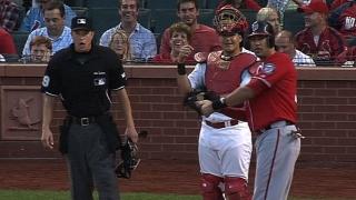 Morse's single ruled a grand slam