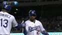 Kemp's second home run