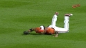 Chavez's diving catch