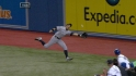 Ichiro&#039;s amazing running grab