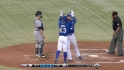 Lawrie's two-run home run