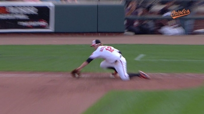 Hardy, Jones, Wieters win Gold Glove Awards