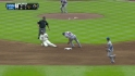 Bourn's 40th stolen base