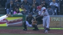Cozart&#039;s go-ahead RBI double