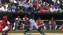 Upton's three hits