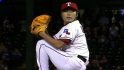 Uehara strikes out the side