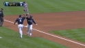 Weeks' two-run homer