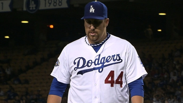Harang adjusting to new role in bullpen