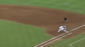 Hairston's RBI infield single