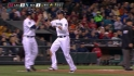 Saunders' two-run double