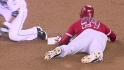 Trout&#039;s 49th stolen base