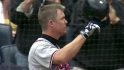 Chipper singles in final at-bat