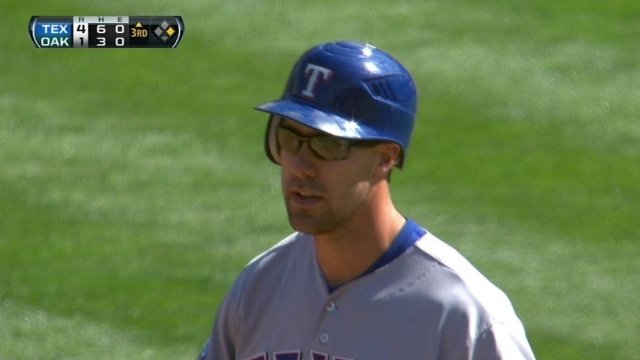 Murphy ready to be Rangers' everyday left fielder