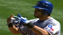 Rangers' five-run third
