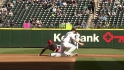 Montero throws out Trout