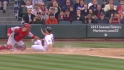 Montero's two-run double