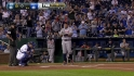 Miggy receives standing ovation