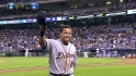 Miggy exits to standing ovation