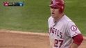 Trout's 27th double