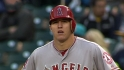 Trout&#039;s two-hit game