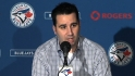 Anthopoulos, Bautista on season