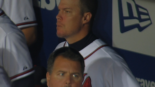 Oct. 5 Chipper Jones postgame interview