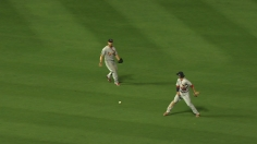 Infield fly ruling draws Braves' ire, sparks disruption