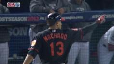 Machado aumenta la ventaja a 3 carreras con hit en la 9na