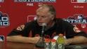 Showalter on advancing to ALDS