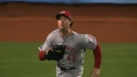 Ludwick flashes the leather