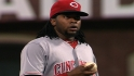 Baker on Cueto's back spasms