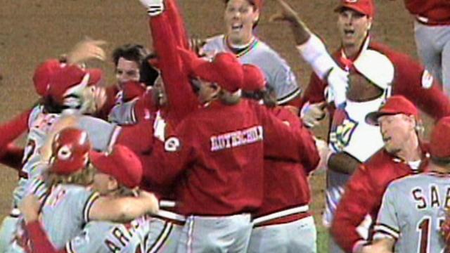 Reds to reunite '90 World Series team at GABP