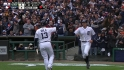 Tigers tie it on a wild pitch
