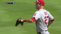 Trout&#039;s diving catch