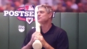 Dale Murphy at the MLB Fan Cave