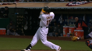 Smith's solo homer