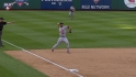 Carpenter&#039;s backhanded stop