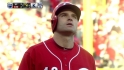 Mijares fans Votto