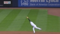 Teixeira's heads-up catch