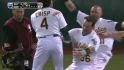 Crisp's walk-off single