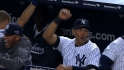 A-Rod reacts to Ibanez&#039;s homer