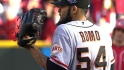 Romo wins 12-pitch battle