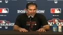 Bochy on Giants' NLDS victory
