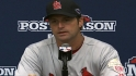 Matheny on tough Game 4 loss
