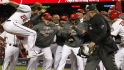 Werth on his walk-off homer