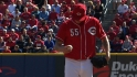 Latos struggles with strike zone