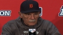Leyland on advancing to ALCS