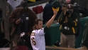 A&#039;s on Game 5 loss, fan ovation