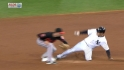 Teixeira steals second