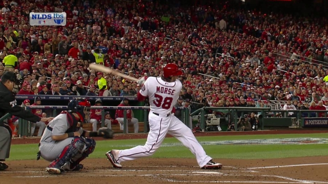 Morse recalls days with Nationals fondly